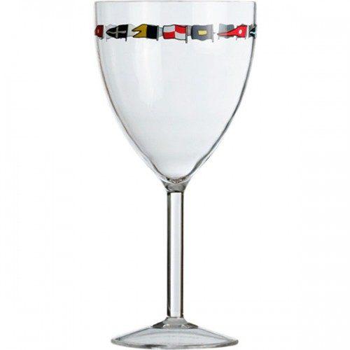 Wijn Glas Met Voet 6 delig Regatta