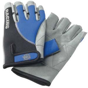 Zeil handschoenen ingekorte vingers