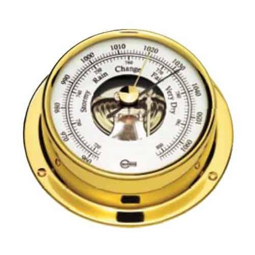Barometer Barigo Tempo messing uitvoering