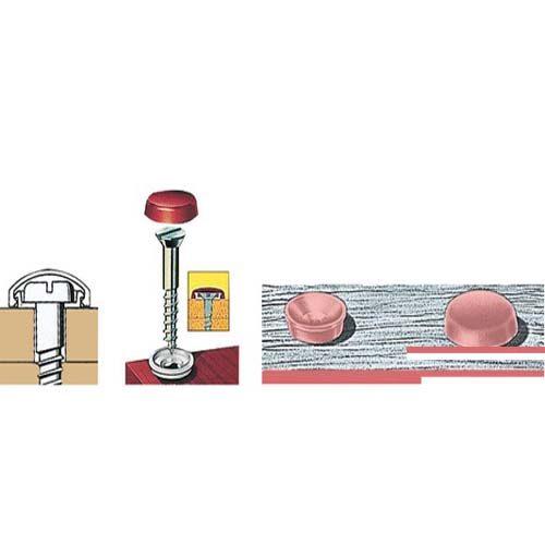 Afwerkings dopjes 4,8 - 6,0 mm