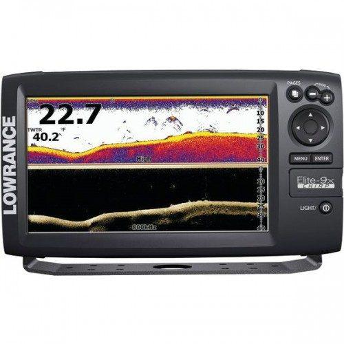 Lowrance Elite-9x CHIRP fishfinder kaartplotter
