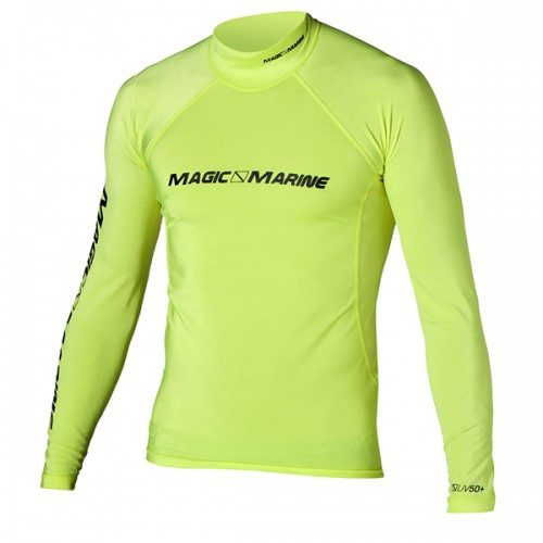 Magic Marine Cube Long Sleeve Rash Vest