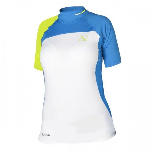Magic Marine Ladies Cube Rash Vest Short Sleeve