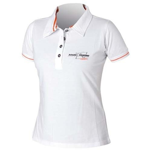 Magic Marine Field polo white
