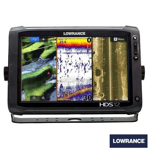 Lowrance HDS12 kaartplotter