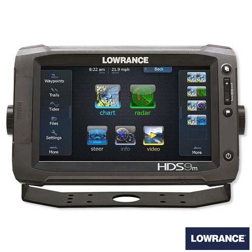 Lowrance HDS-9 Gen3 Touch kaartplotter fishfinder