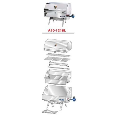 Magma A10-1218LCE-2 rechthoekige BBQ parts