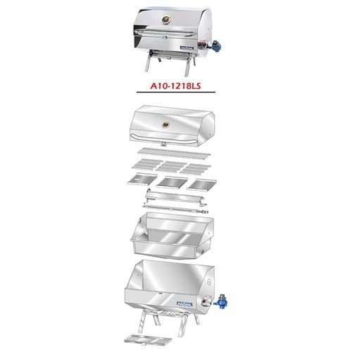 Magma A10-1218LSCE-2 rechthoekige BBQ parts