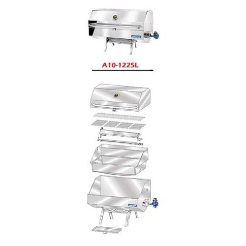 Magma A10-1225LCE-2 rechthoekige BBQ parts
