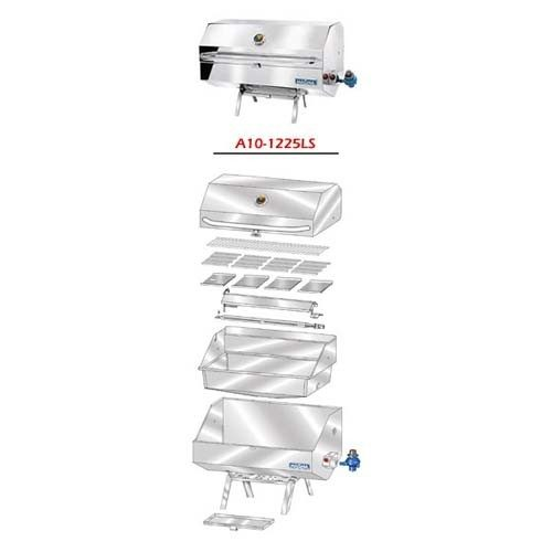Magma A10-1225LSCE-2 rechthoekige BBQ parts