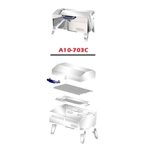 Magma A10-703C rechthoekige BBQ parts