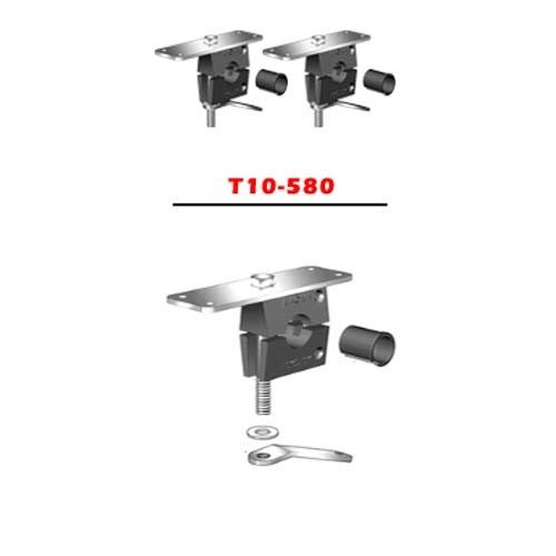 Magma rechthoekige BBQ montage systeem T10-580
