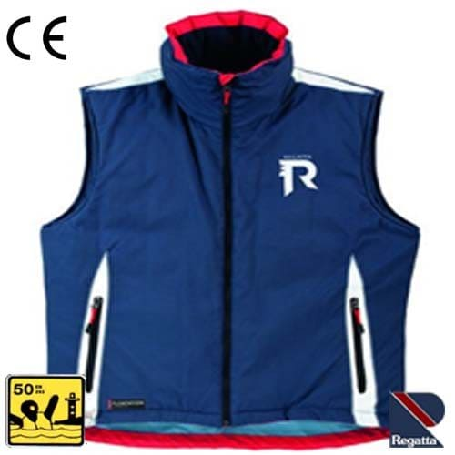 Bodywarmer met flotation Navy