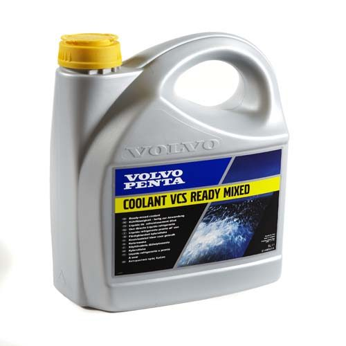 Volvo Penta Coolant Ready to use Geel 5 Liter