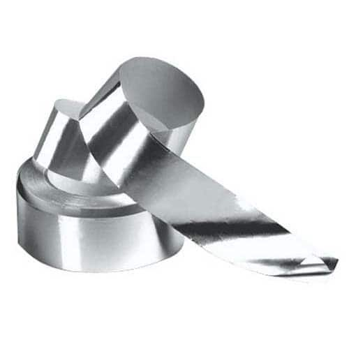 Aluminium afwerkingstape rol 50 meter