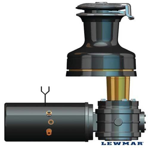 Lewmar 12V electrische lier motor unit