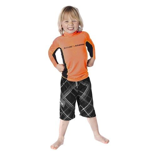 Magic Marine Cube Rash Vest Kids